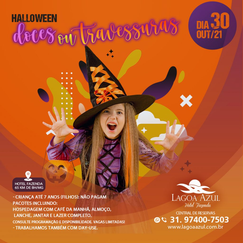 HALLOWEEN Doces ou Travessuras